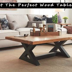 Simple Tips to Select The Perfect Wood Table Legs