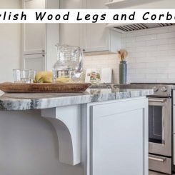 Make Your Kitchen Island Go Gaga With Stylish Wood Legs and Corbels